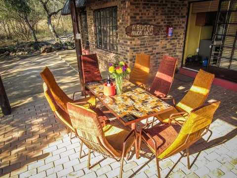 Kruger River View patio